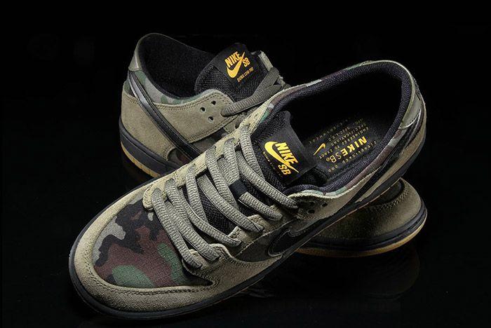 Nike Sb Dunk Low Camo 2