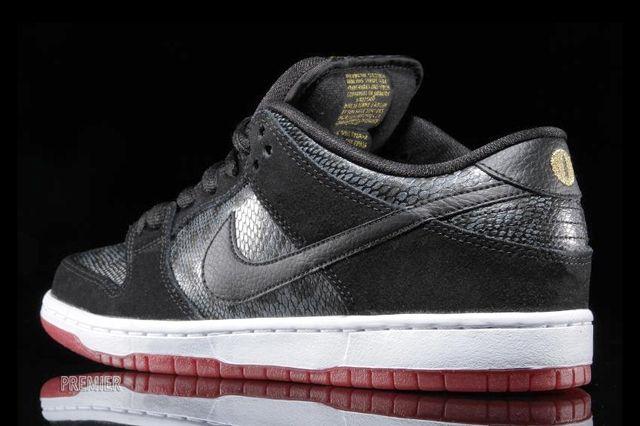 Nike Sb Dunk Low Snake Eyes 4