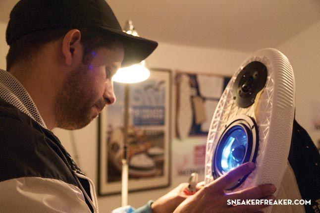 Doom Sneaker Speakers Making Of 16 1