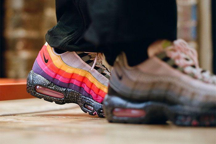 Size Nike Air Max 95 Heel