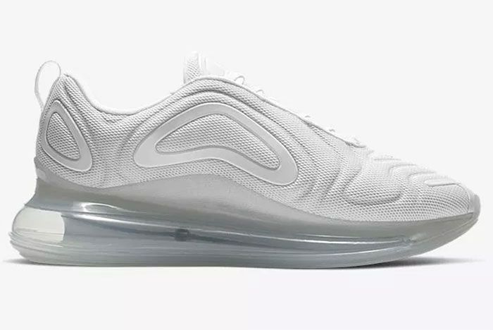 Nike Air Max 720 Metallic Platinum Right