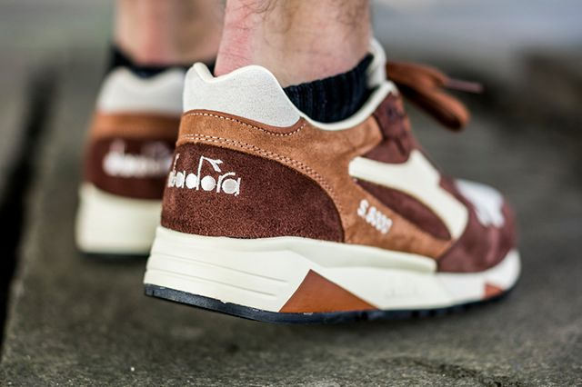 Diadora S8000 S Ita Made In Italy Brown2