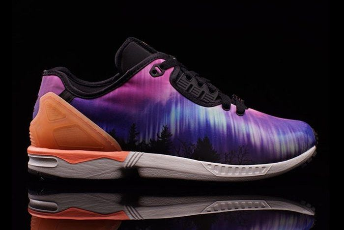 Adidas Zx Flux Decon Aurora Borealis 1