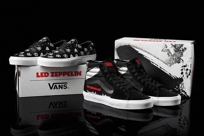 Led Zepplin Vans Collection Release Info