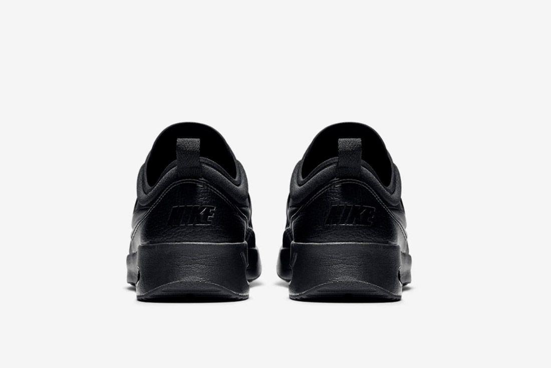 Nike Air Max Thea Premium Womens Beautiful Powerful Black 1
