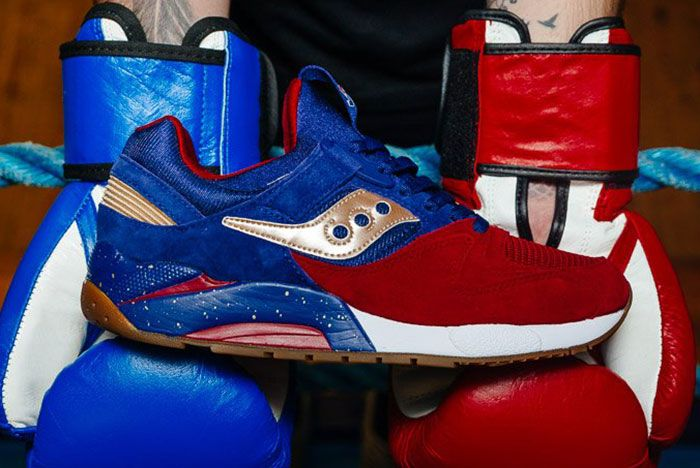 Saucony Grid 9000 Sparring Thumb
