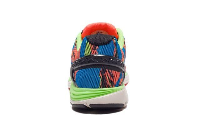 Nike Lunarglide5 Tiger Reef Heel Profile