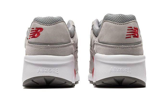 No Vacany New Balance 850 Grey Heel