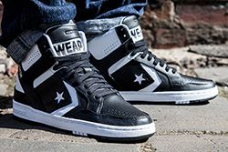 Converse Cons Weapon Mid Black White Thumb