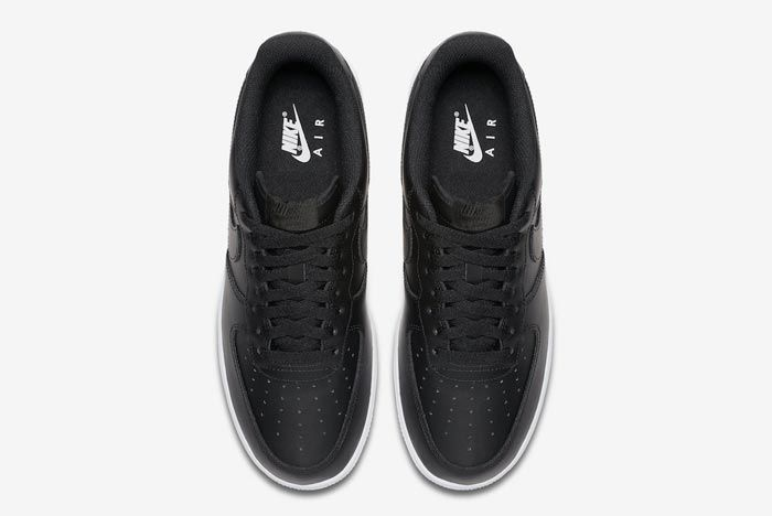 Nike Air Force 1 Low Black White Top