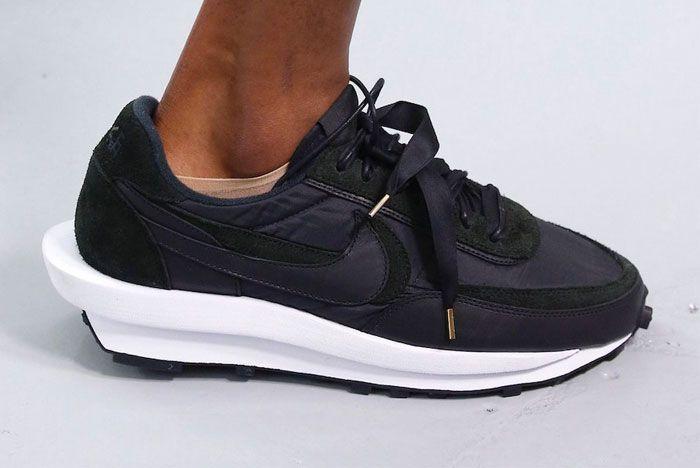 Sacai Nike Ld Waffle Black Right