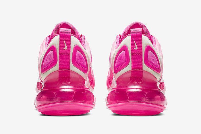Nike Air Max 720 Laser Fuchsia Heel