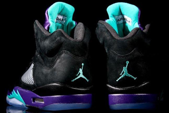 Air Jordan 5 Aqua Heels 1