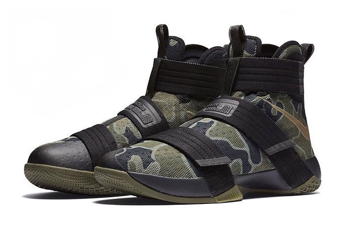 Nike Lebron Zoom Soldier 10 Camo 1