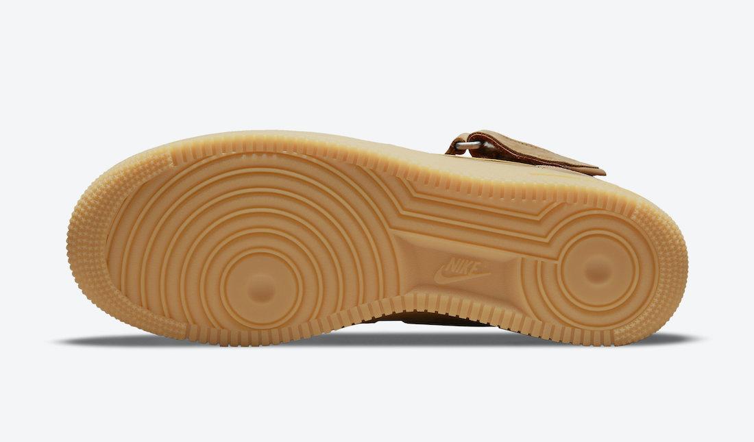 Nike Air Force 1 Mid Flax 2021