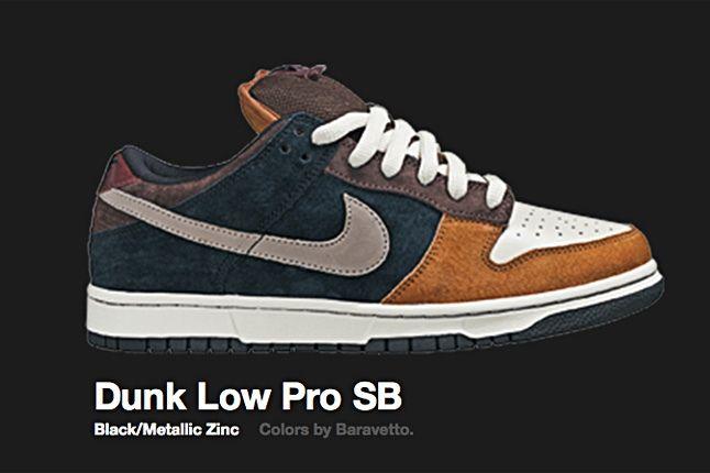 Nike Metallic Zinc Dunk Low Pro Sb 2007 1