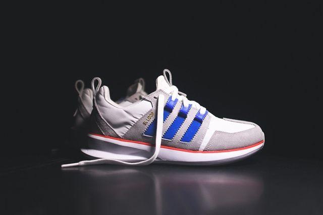 Adidas Sl Loop Runner White Bluebird Red 2
