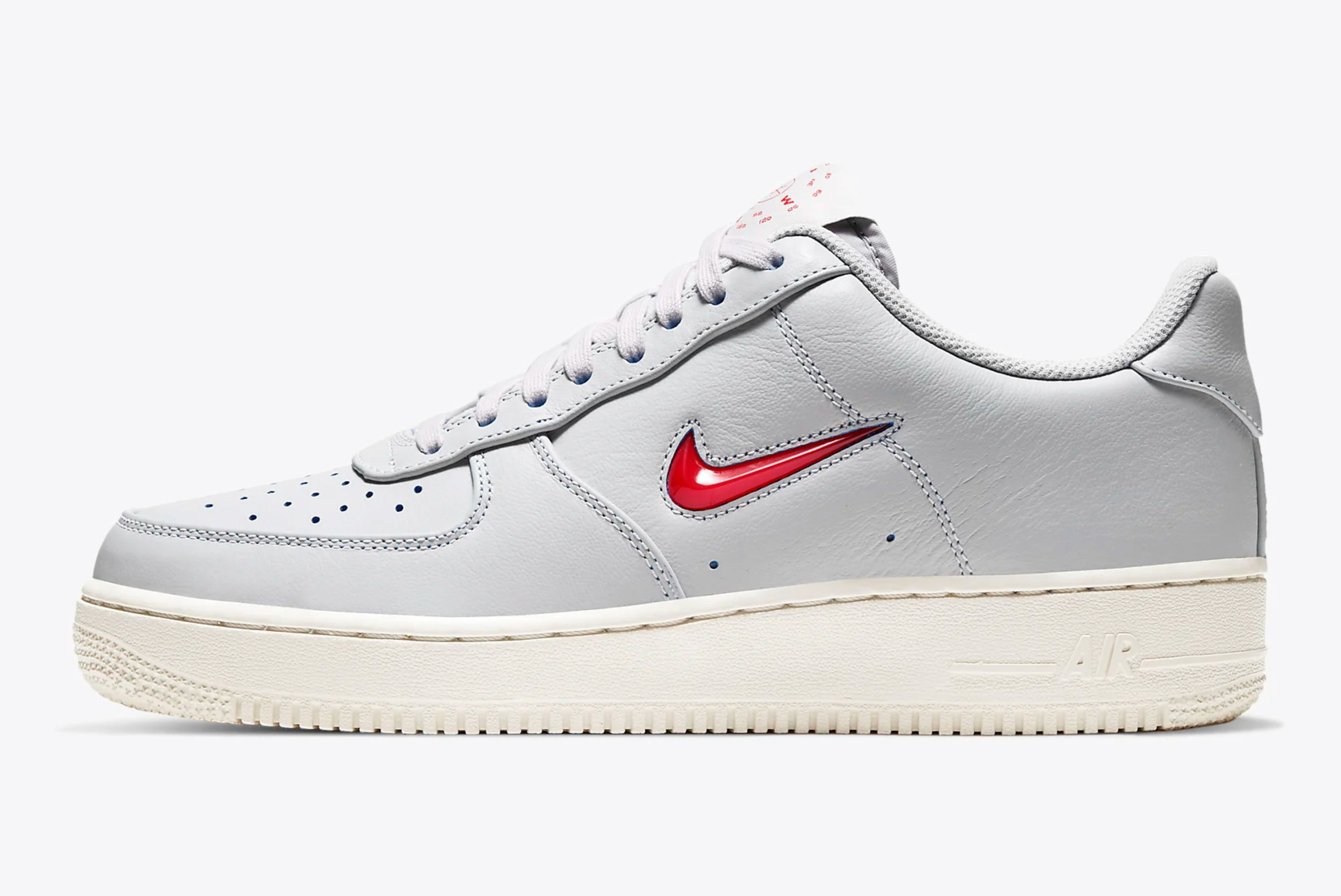 Nike Air Force 1 Jewel 'Vast Grey'