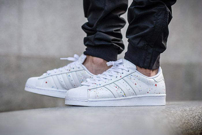 Adidas Superstar Speckled White Multi 2