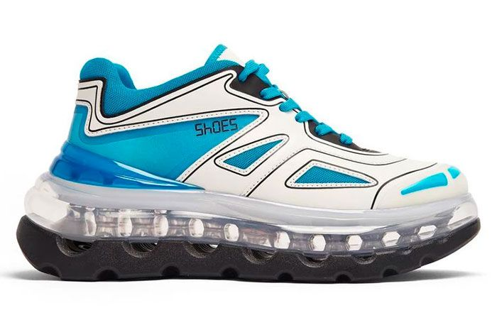 Shoe 53045 Air Bump Ice Right