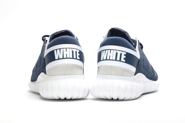White Mountaineering Adidas Tubular Nova Navy Blue 2