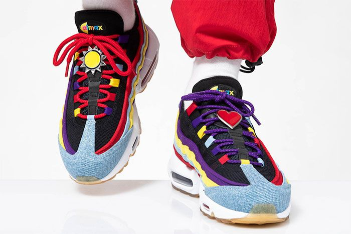 Nike Air Max 95 Sp Multicolor Right Toe