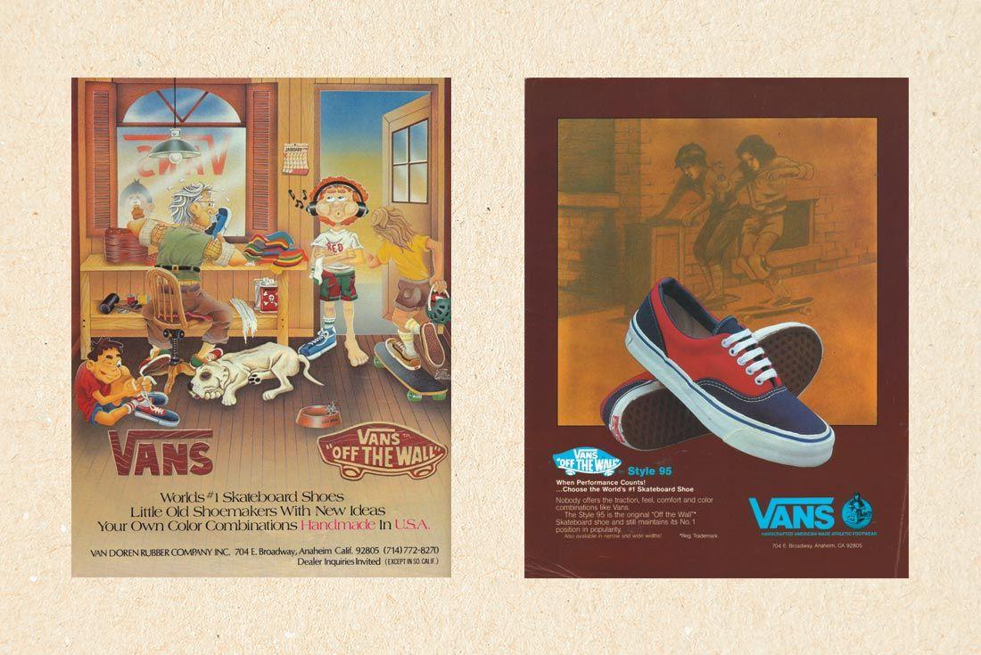 Vans History Print Adverts
