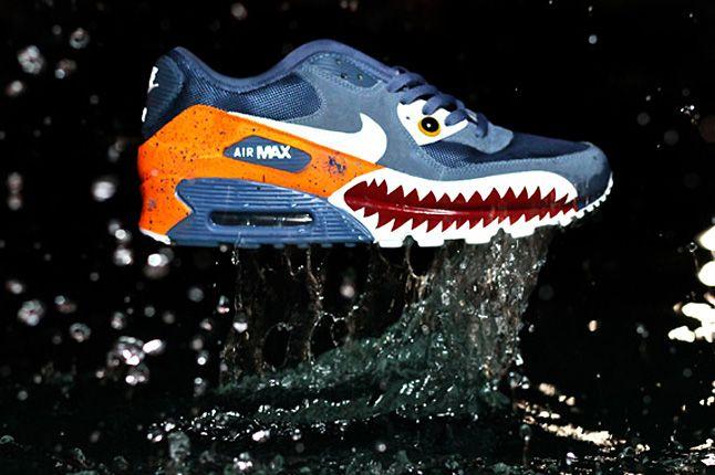 Nike Air Max 90 Piranha Customs 2 1