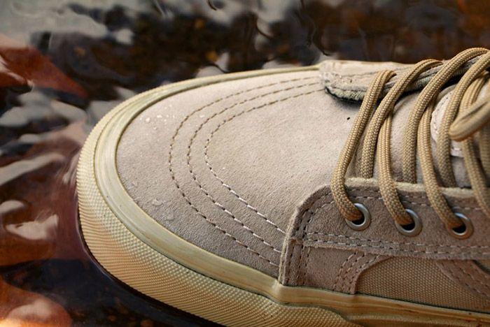 Vans Sk8 Hi Mte Leather Tan 2