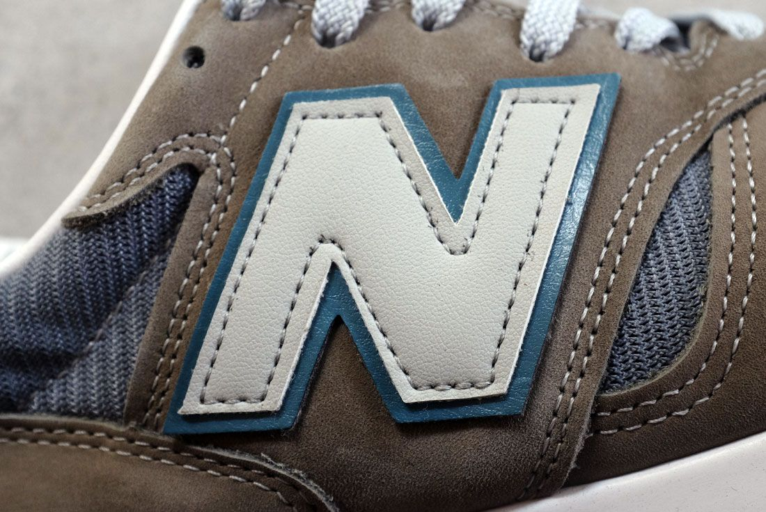 New Balance N Logo Close Up