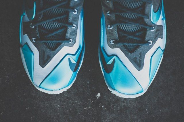 Nike Lebron 11 Gamma Blue Bump 7