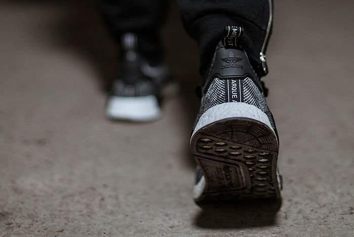 Adidas Nmd R1 Primeknit Core Black6