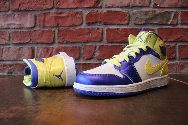 Air Jordan 1 Gs Lavender Mellow Heel Profile 1