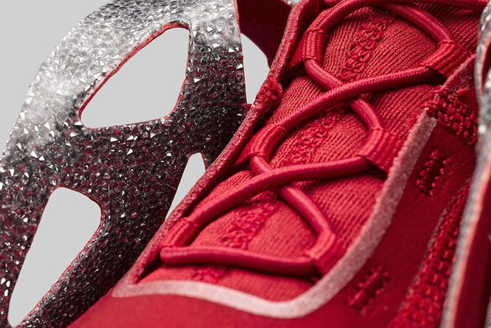 Swarovski Jordan Air Latitude 720 Red Ci1233 607 Crystal Detail