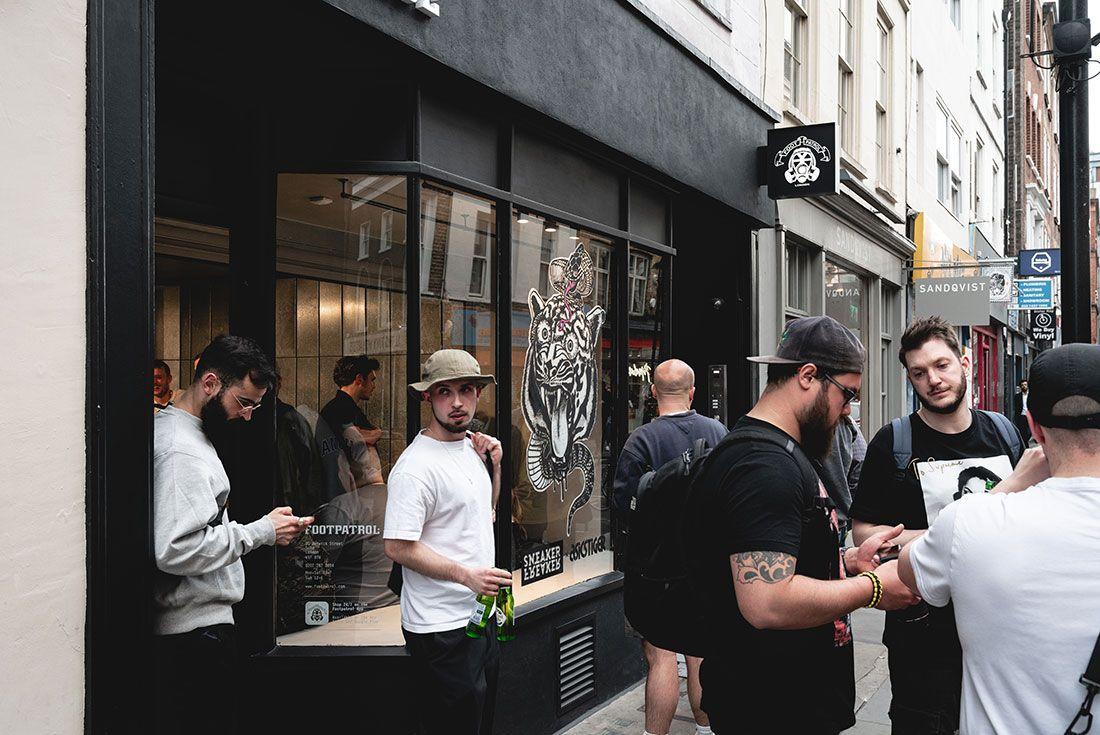 Footpatrol London Tiger Snake Launch Mains4