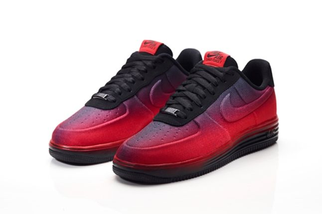 Nike Lunar Icons Lf1 Angle Red 1