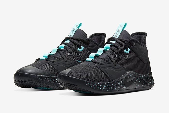 Nike Pg 3 Black Light Aqua Ao2607 006 Release Date Price 4 Pair
