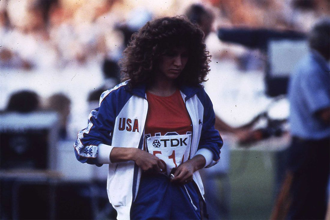 Kappa Usa Track And Field Olympics Curly Hair