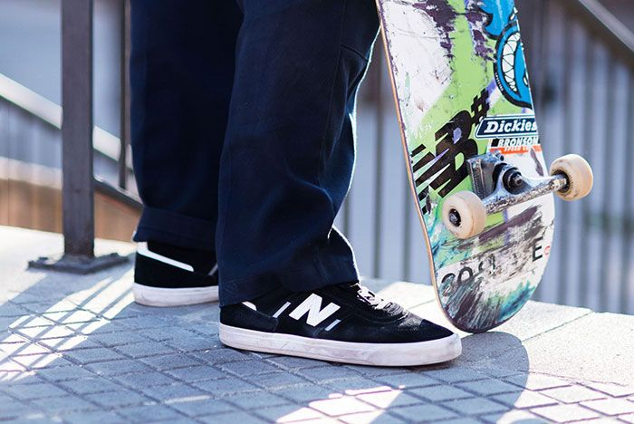 Jamie Foy New Balance Numeric 306 5 Pair Side