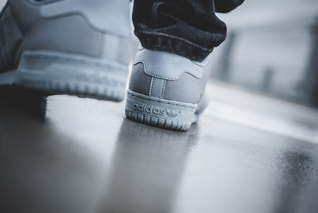 Adidas Yeezy Powerphase Grey On Foot Sneaker Freaker 3