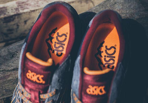 Asics Gt Ii Dark Grey Red Orange 6