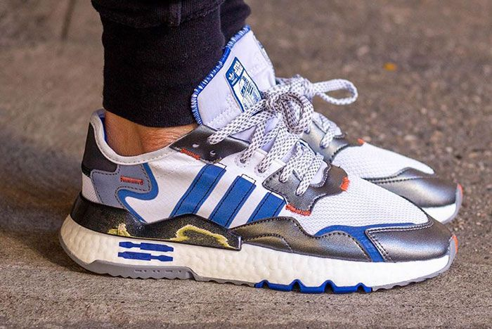 Adidas Star Wars Nmite Jogger R2 D2 On Foot7