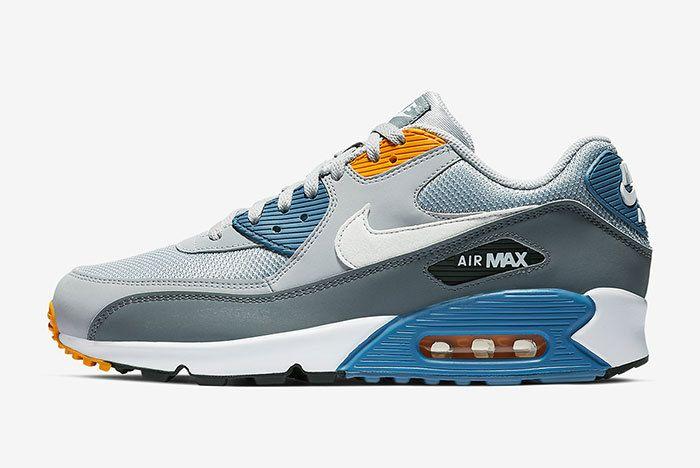 Nike Air Max 90 Grey Blue 1