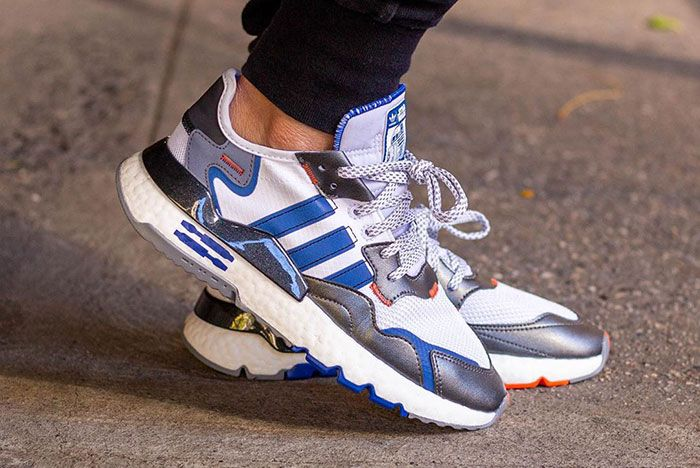 Adidas Star Wars Nmite Jogger R2 D2 On Foot2