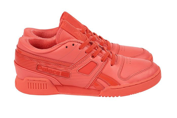 Palace Pro Workout Low Red Lateral Side