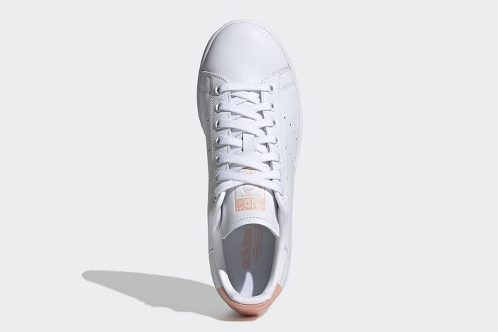 Adidas Stan Smith White Glow Pink Top