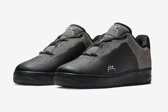 A Cold Wall Nike Air Force 1 Low Black 1