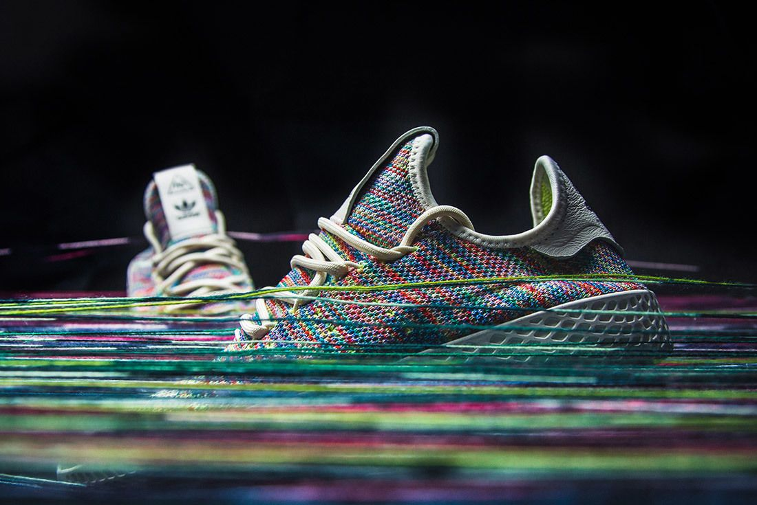 Adidas Pharrell Williams Tennis Hu Rainbow 2