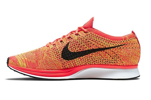 Nike Flyknit Racer Orange Slice 3