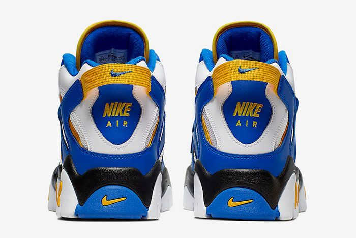 Nike Air Barrage Mid Warriors At7847 100 Heels